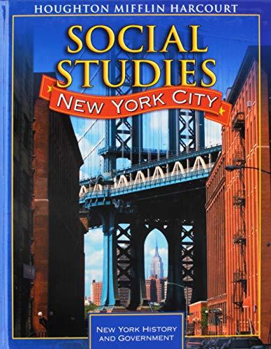 9780547197524: Houghton Mifflin Social Studies New York: Student Edition Level 4 2009