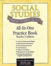 9780547197654: Houghton Mifflin Social Studies New York: Teacher's Edition Level 4 2009