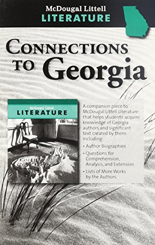 9780547199269: McDougal Littell Literature Georgia: Connections to Georgia Grade 8