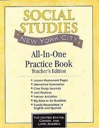 Houghton Mifflin Social Studies New York: Practice Book, Test Prep and Assessment Options with ...