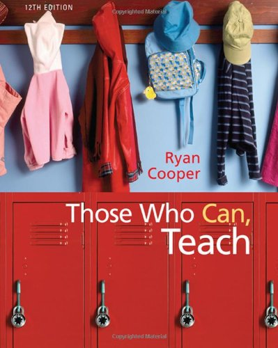 Those Who Can, Teach (0547204884) by Kevin Ryan; James M. Cooper