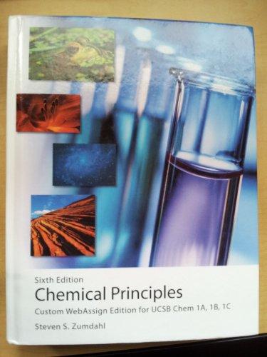 9780547207094: Chemical Principles [Hardcover] by Steven S. Zumdahl (2009-08-01)