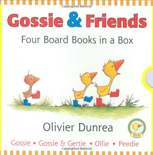9780547207469: Gossie and Friends Board Book Set (Gossie & Friends)