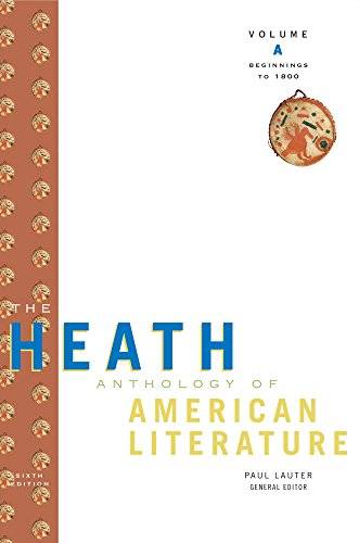 9780547207636: The Heath Anthology of American Literature 2 Volume Set: Volumes A & B