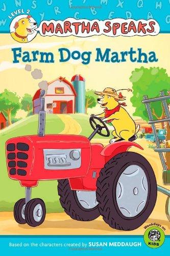 9780547210605: Martha Speaks: Farm Dog Martha (Reader)