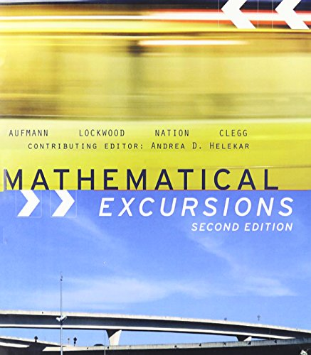 Mathematical Excursions: Lockwood, Nation, Clegg