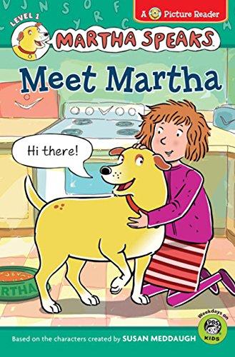9780547210797: Martha Speaks: Meet Martha (Picture Reader)