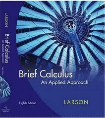 9780547212067: Brief Calculus: An Applied Approach (Custom for USF) Edition: eighth