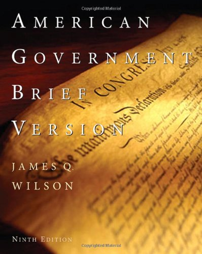 9780547212760: American Government: Brief Edition