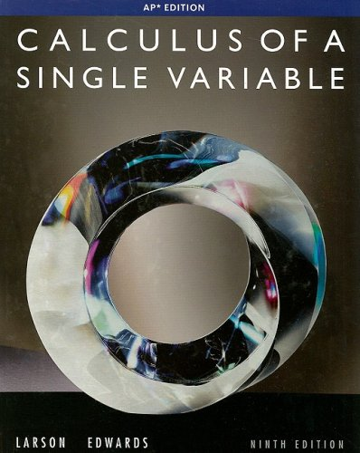 9780547212906: Calculus of a Single Variable, 9th Edition