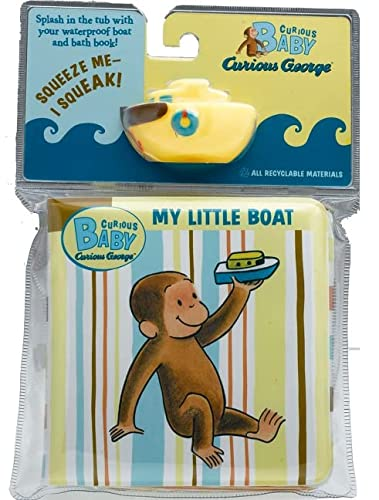 Curious Baby My Little Boat Curious George Bath Book