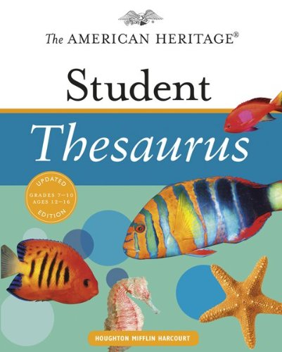 9780547216010: The American Heritage Student Thesaurus