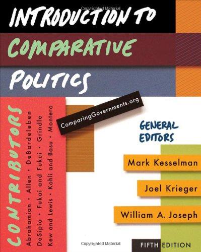 9780547216294: Introduction to Comparative Politics
