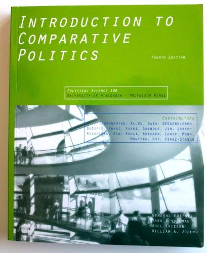 9780547222981: Introduction to Comparative Politics