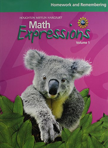 9780547225005: Math Expressions: Sab Consm Set With Homework & Remembering Book Consumable Set Level 1