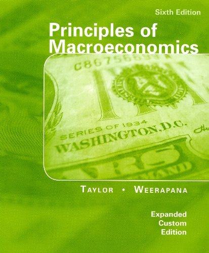 9780547225364: Principles of Macroeconomics, 6e, Expanded Custom Edition