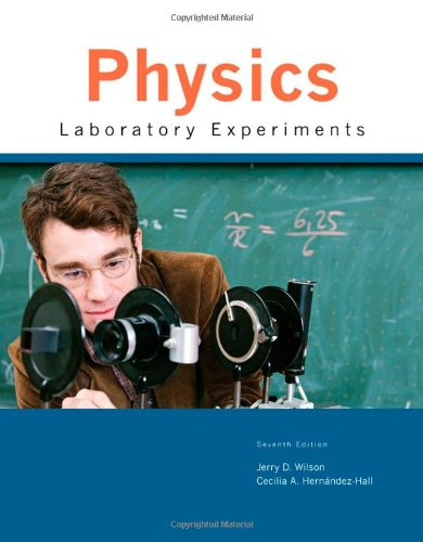 9780547227481: Physics Laboratory Experiments
