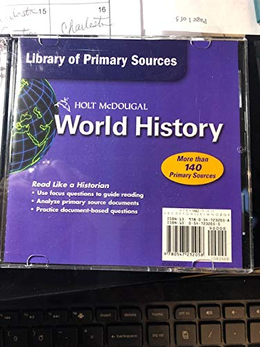 9780547232058: World History: Patterns of Interaction: World History Library of Primary Sources CD-ROM