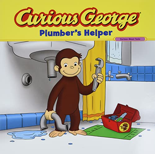 9780547235899: Curious George Plumber's Helper (CGTV 8x8)