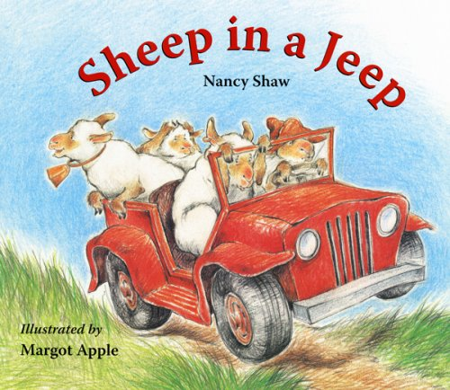 9780547237756: Sheep in a Jeep Lap-Sized Board Book