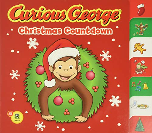 9780547238630: Curious George Christmas Countdown