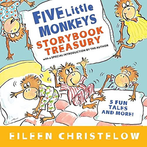 9780547238739: Five Little Monkeys Storybook Treasury