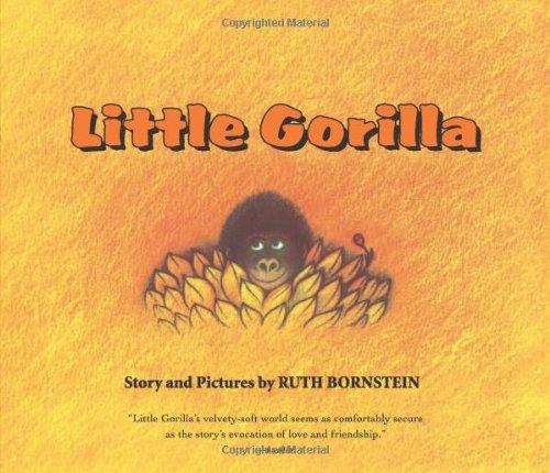 Little Gorilla Lap Board Book (0547238746) by Ruth Bornstein