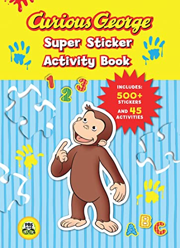 9780547238968: Curious George Super Sticker Activity Book (CGTV)