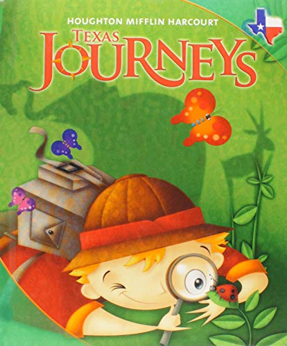 9780547240800: Journeys Texas: Student Edition Level 1 Volume 3 2011