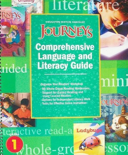 9780547241081: Journeys: Comprehensive Language and Literacy Guide, Grade 1