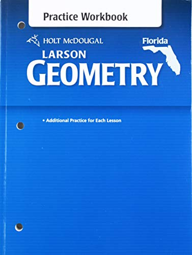 9780547242422: Holt McDougal Larson Geometry: Practice Workbook Geometry
