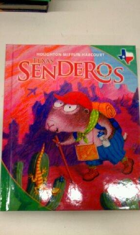 9780547243429: Houghton Mifflin Harcourt Senderos Texas: Student Edition Level 1 Volume 4 2011 (Spanish Edition)