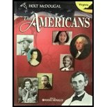The Americans Virginia: Student's Edition Grades 9-12 2011: LITTEL, MCDOUGAL