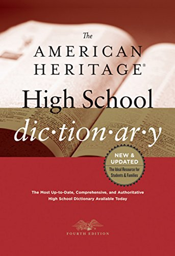 9780547247670: The American Heritage High School Dictionary