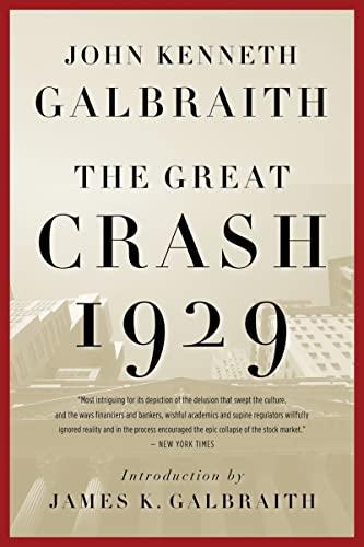 9780547248165: The Great Crash, 1929