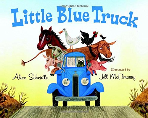 9780547248288: Little Blue Truck Board Book