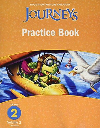 9780547249148: Journeys, Grade 2 Practice Book Consumable: Houghton Mifflin Journeys (Hmr Journeys/Medallions/Portals 2010-12)