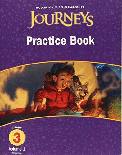9780547249445: Journeys, Grade 3 Practice Book Consumable Collection: Houghton Mifflin Journeys (Hmr Journeys/Medallions/Portals 2010-12)