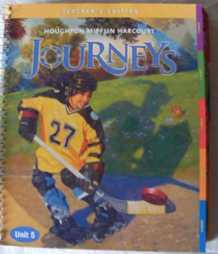 9780547252070: Journeys: Teacher's Edition Volume 5 Grade 5 2011