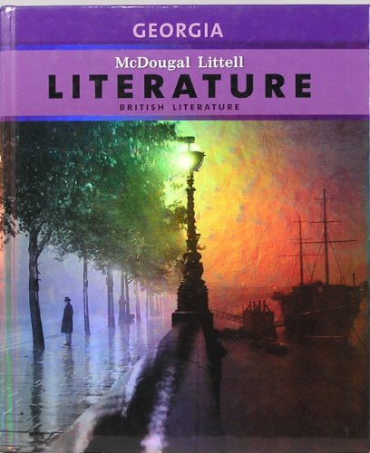 9780547255057: McDougal Littell Literature Georgia: Student Edition British Literature 2011
