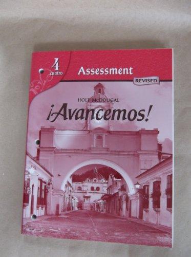 9780547255422: ?Avancemos!: Assessment Program Level 4