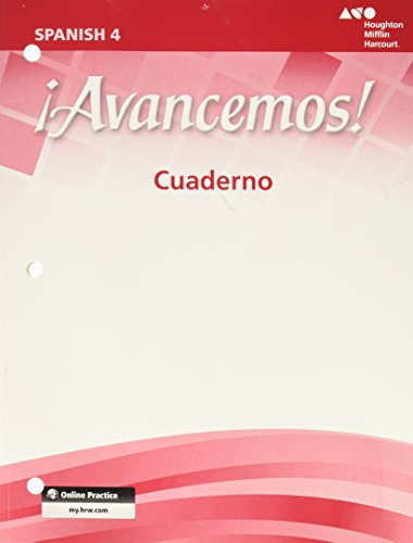 9780547255439: ¡Avancemos!: Cuaderno Student Edition Level 4 (Spanish Edition)