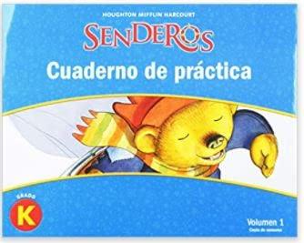 9780547257914: Senderos: Practice Books Set Grade K (Spanish Edition)