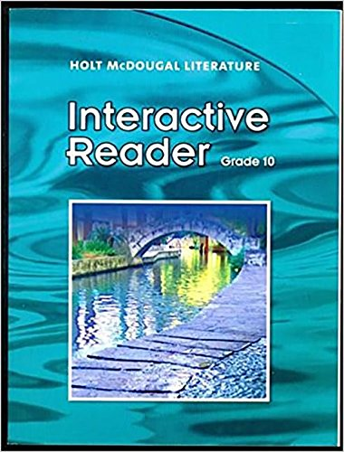 9780547271521: Holt McDougal Literature Texas: Interactive Reader Grade 10