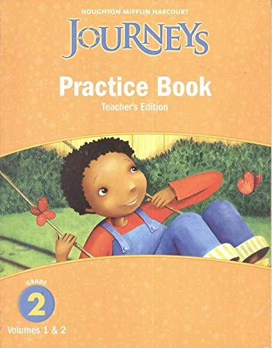 9780547271927: Journeys: Practice Book Teacher Annotated Edition Grade 2