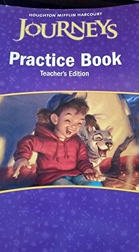 9780547271934: Houghton Mifflin Harcourt Journeys: Practice BK Teacher's Edition Grade 3