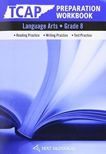 9780547273136: Elements of Language: TCAP Prep Workbook Grade 8