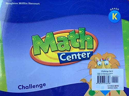 Grab and Go Kit, Grade K Math: Hmh (Corporate Author)