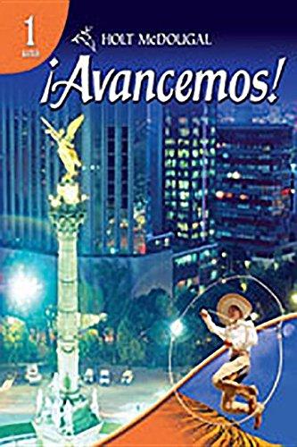 9780547278599: Avancemos Level 1, Grades 9-12: Holt Mcdougal Avancemos (Ml Spanish)