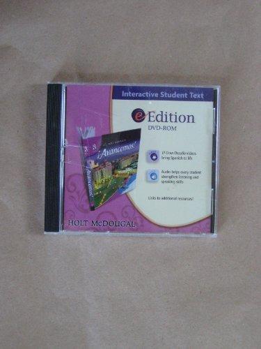 Avancemos!: eStudent Edition DVD Level 3 2010: HOLT MCDOUGAL
